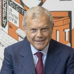 Sir Martin Sorrell  Photographed in his S4 Capital offices in St James St London Uk 27th Aug 2020  © Vicki Couchman Photographer 07957226911 vickicouchman.com